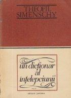 dictionar intelepciunii Cugetari antice moderne