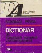 Dictionar literatura romana contemporana