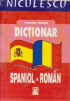 Dictionar spaniol roman buzunar
