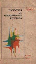 Dictionar de terminologie literara (Proza, Retorica, Dramaturgie)