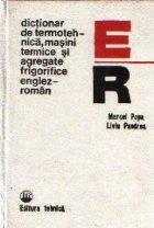 Dictionar de termotehnica, masini termice  si agregate frigorifice englez-roman