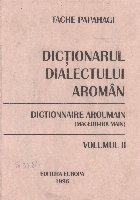 Dictionarul dialectului aroman general etimologic