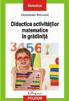 Didactica activitățlor matematice în grădiniță