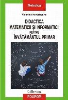 Didactica matematicii și informaticii pentru învățămîntul primar