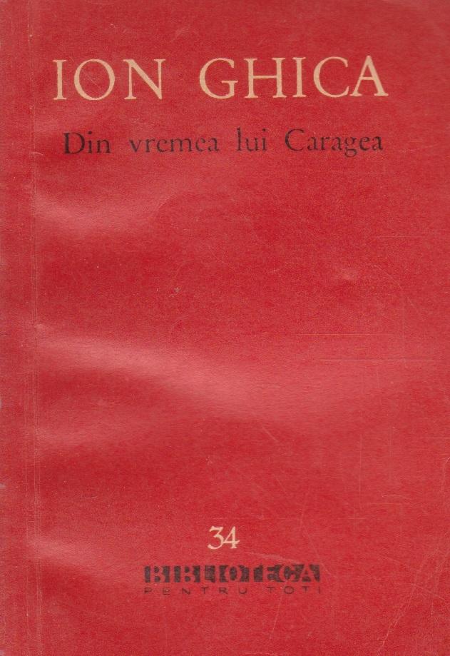 Din vremea lui Caragea