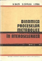 Dinamica proceselor metabolice ateroscleroza
