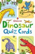 Dinosaur quiz cards