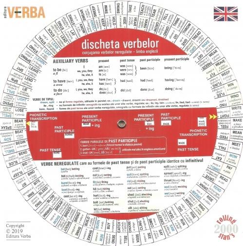 Discheta verbelor. Conjugarea verbelor neregulate - limba engleza