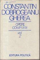 C. Dobrogeanu Gherea - Opere complete, Volumul al II-lea