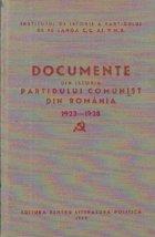 Documente din istoria Partidului Comunist din Romania (1923-1928), Volumul al II-lea