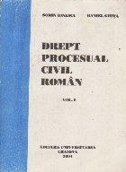 Drept procesual civil roman, Volumul I