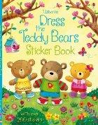 Dress the teddy bears sticker book