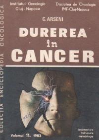 Durerea in cancer, Volumul 11/1983