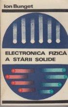 Electronica fizica starii solide