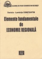 Elemente fundamentale de economie regionala