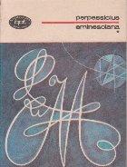 Eminesciana, Volumul I