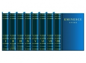 Eminescu Opere. Editie in 8 volume de lux