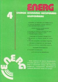 ENERG 4 - Energie. Economie. Recuperare. Gospodarire