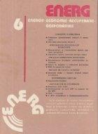 ENERG 6 - Energie. Economie. Recuperare. Gospodarire