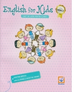 English for kids - caiet de lucru pentru clasa intai (editie alb-negru)