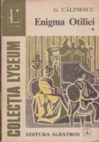Enigma Otiliei Volumul