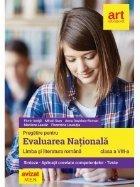 Evaluarea nationala. Limba si literatura romana - Clasa a VIII-a