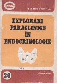 Explorari paraclinice in endocrinologie - Diagnosticul endocrinopatiilor