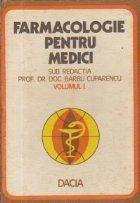 Farmacologie pentru medici, Volumul I