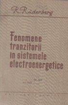 Fenomene tranzitorii in sistemele electroenergetice (R. Rudenberg)