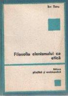 Filozofia elenismului etica