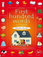 First hundred words in English sticker book
