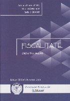 Fiscalitate. Editia a IV-a, revizuita si adaugita