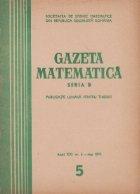 Gazeta matematica, 5/1970