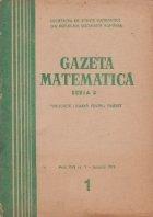 Gazeta matematica, 1/1970