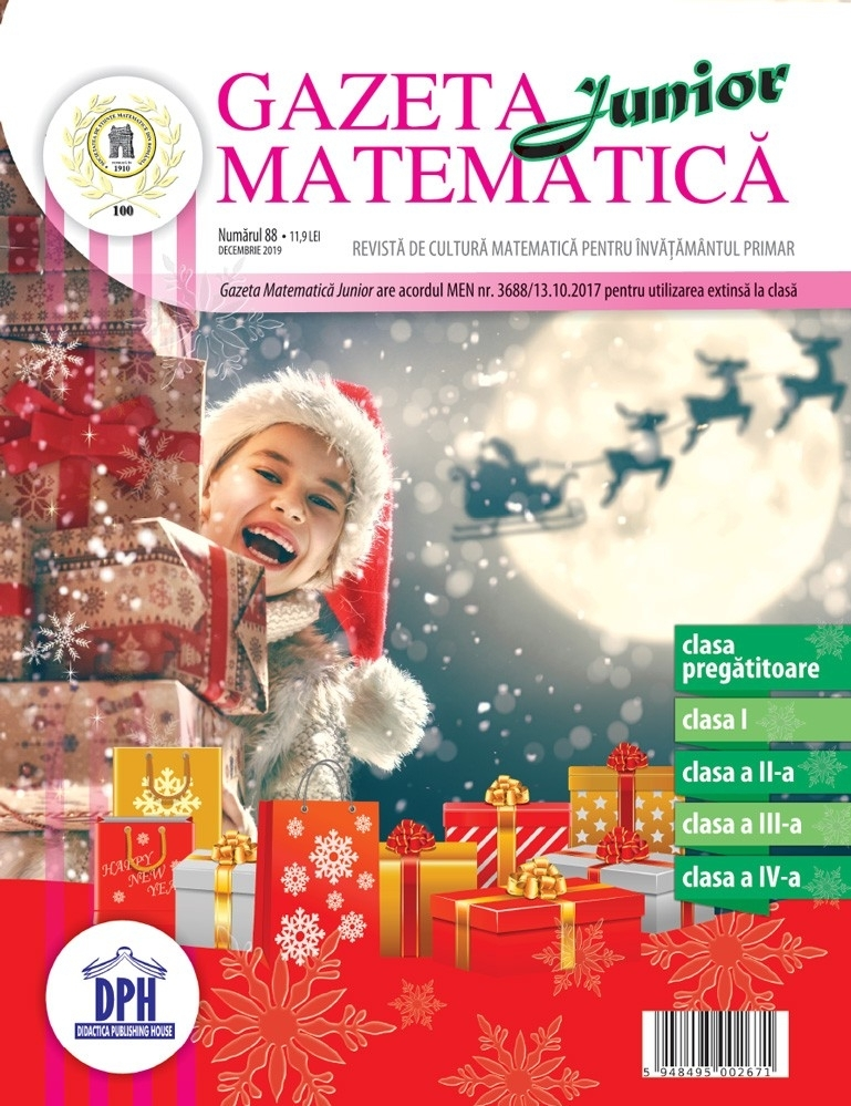 Gazeta Matematica Junior nr. 88 (Decembrie 2019)