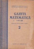 Gazeta Matematica, Seria B, Februarie 1974