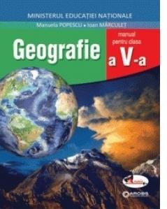 Geografie, manual clasa a V-a + CD