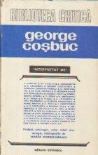George Cosbuc interpretat de...