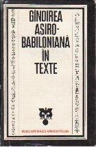 Gindirea Asiro-Babiloniana in Texte