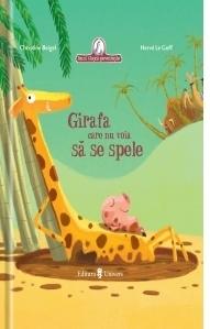 Girafa care nu voia sa se spele