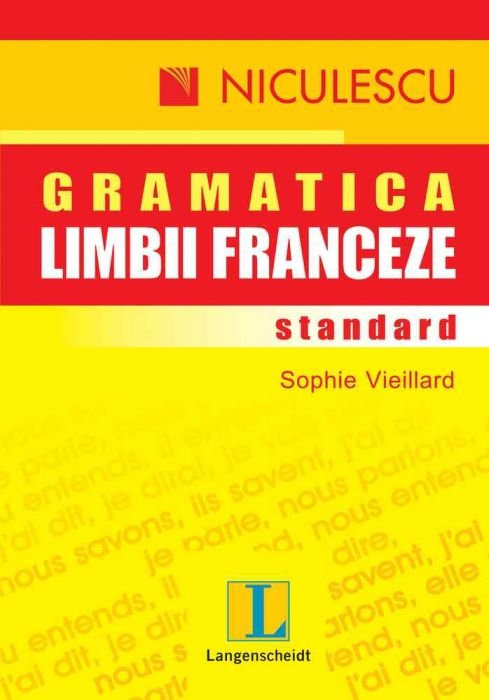 Gramatica limbii franceze standard