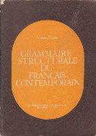 Grammaire Structurale du Francais Contemporain