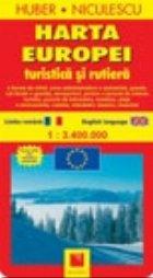 Harta Europei turistica rutiera