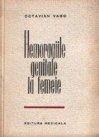 Hemoragiile genitale la femeie