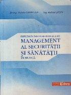 Implementarea sistemului de management al securitatii si sanatatii in munca