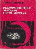 Incompatibilitatile sanguine foeto-materne