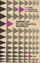 Indreptar de matematica moderna