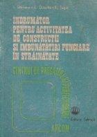 Indrumator pentru activitatea de constructii si imbunatatiri funciare in strainatate