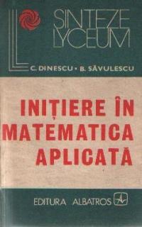 Initiere in matematica aplicata