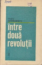 Intre Doua Revolutii
